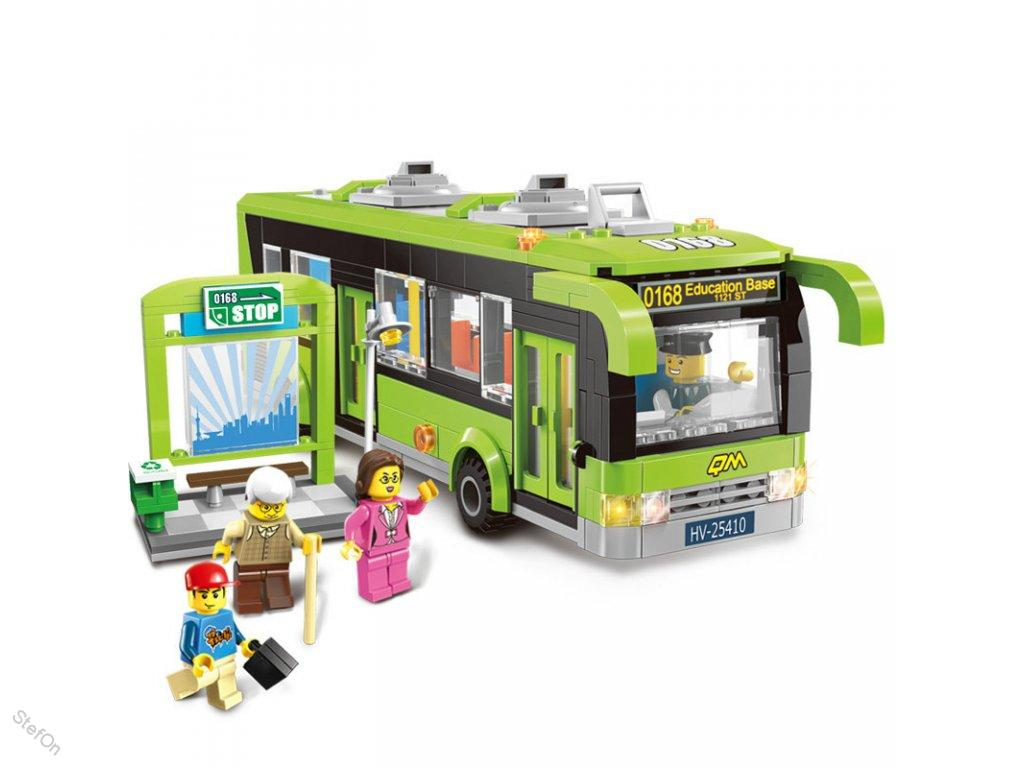 Enlighten Brick 1121 Autobusová Zastávka 461 dílů